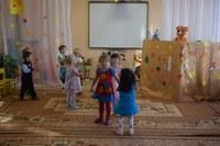 Театрализованная деятельность с детьми 2-ой младшей группы.